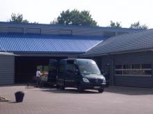 Werkstatthalle in Rantum