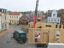 Neubau Marktpavillon in Bredstedt